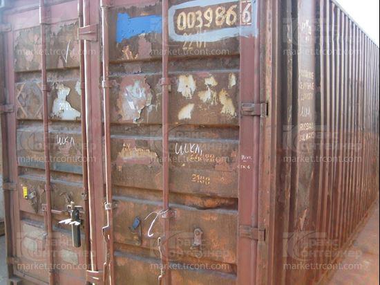 Изображение 20-футовый б/у контейнер №0039866