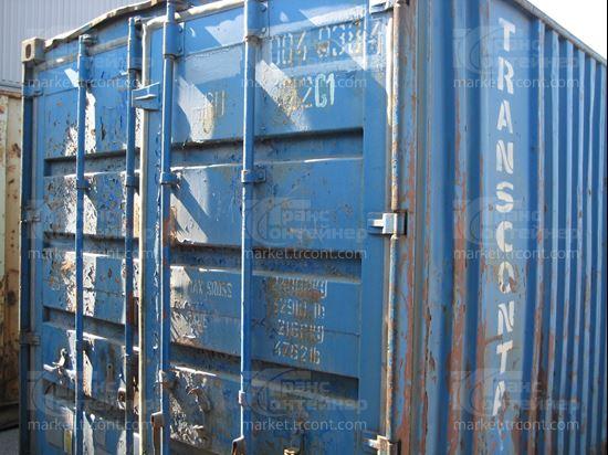 Изображение 20-футовый б/у контейнер №0040384