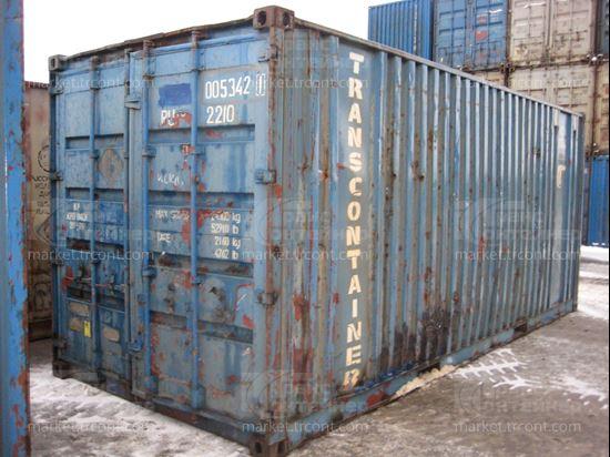 Изображение 20-футовый б/у контейнер №0053421