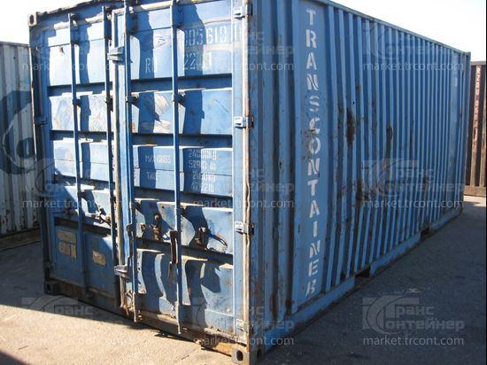 Изображение 20-футовый б/у контейнер №0056101