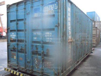 Изображение 20-футовый б/у контейнер №0062927