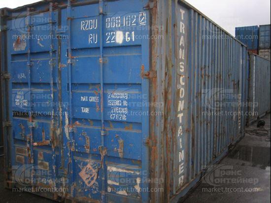 Изображение 20-футовый б/у контейнер №0081022