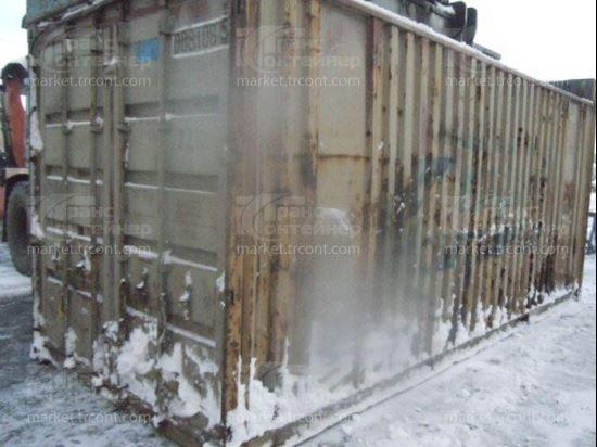 Изображение 20-футовый б/у контейнер №0081085