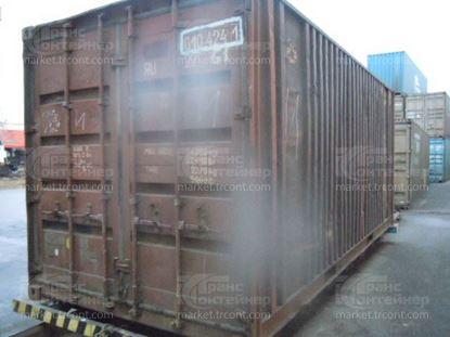 Изображение 20-футовый б/у контейнер №0104241