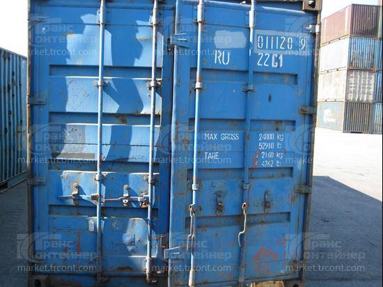 Изображение 20-футовый б/у контейнер №0111209