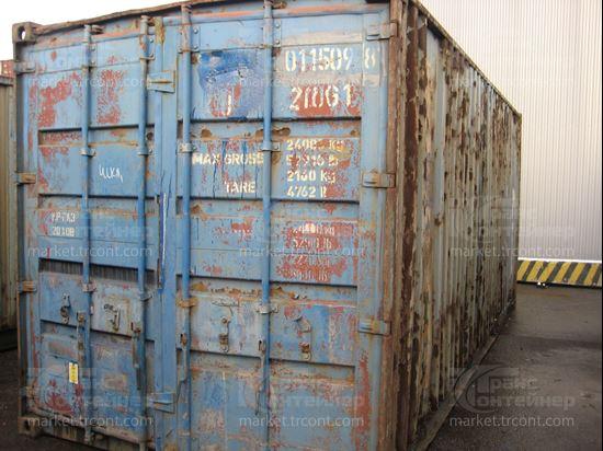 Изображение 20-футовый б/у контейнер №0115098