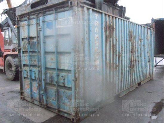 Изображение 20-футовый б/у контейнер №0116983