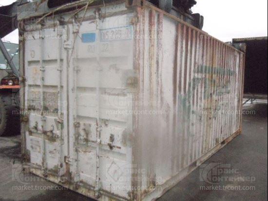 Изображение 20-футовый б/у контейнер №0152297