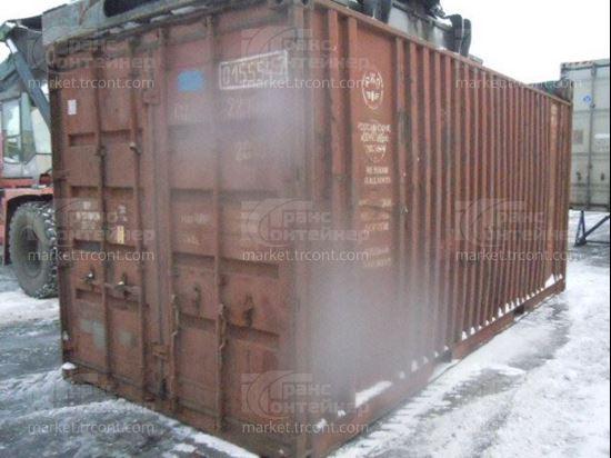 Изображение 20-футовый б/у контейнер №0155547