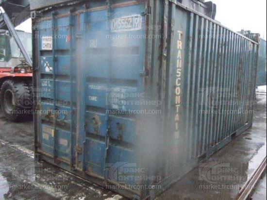 Изображение 20-футовый б/у контейнер №0155629