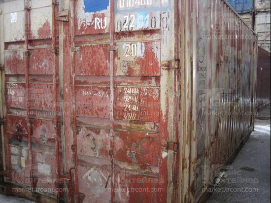Изображение 20-футовый б/у контейнер №0164600