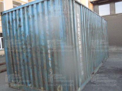 Изображение 20-футовый б/у контейнер №0166285