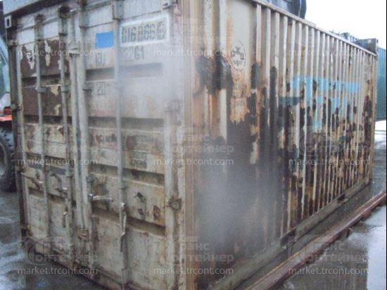 Изображение 20-футовый б/у контейнер №0168668