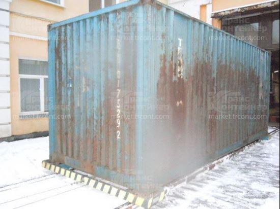 Изображение 20-футовый б/у контейнер №0175292