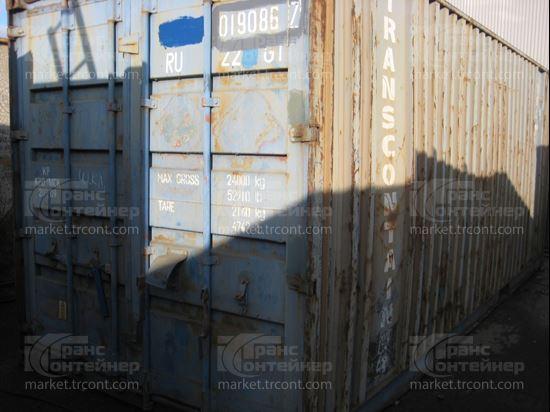Изображение 20-футовый б/у контейнер №0190867