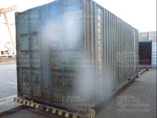 Изображение 20-футовый б/у контейнер №0203100