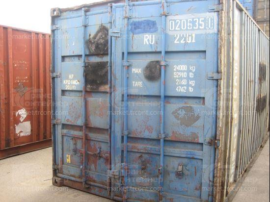 Изображение 20-футовый б/у контейнер №0206351