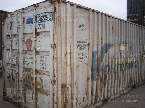 Изображение 20-футовый б/у контейнер №0262252