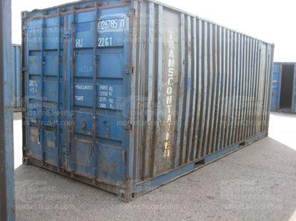 Изображение 20-футовый б/у контейнер №0267850