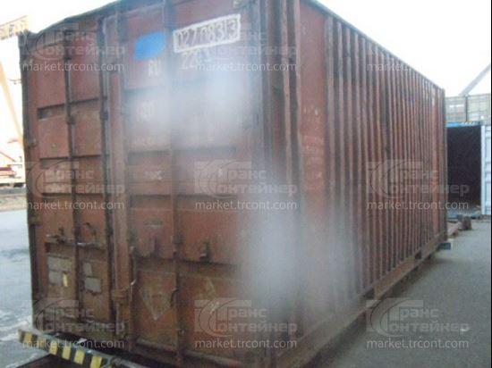 Изображение 20-футовый б/у контейнер №0270833