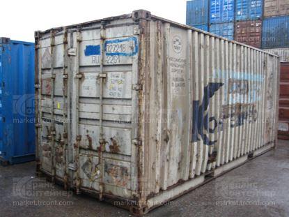 Изображение 20-футовый б/у контейнер №0272184