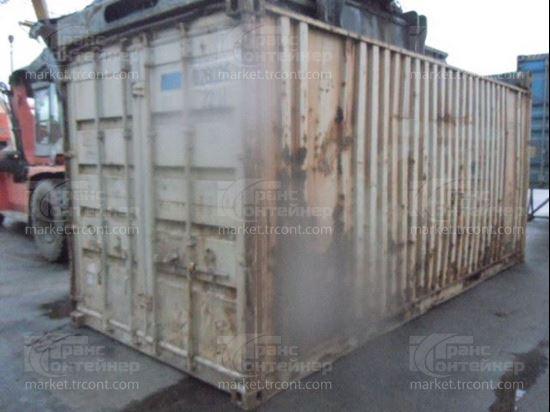 Изображение 20-футовый б/у контейнер №0280261