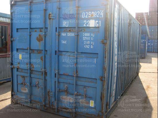 Изображение 20-футовый б/у контейнер №0290824