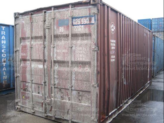Изображение 20-футовый б/у контейнер №0295908
