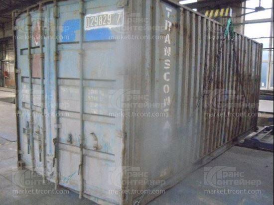 Изображение 20-футовый б/у контейнер №0298297