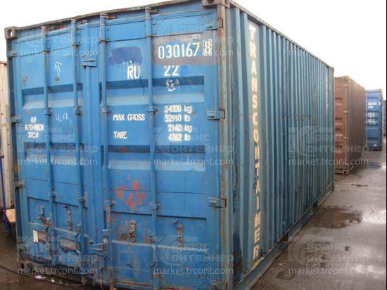 Изображение 20-футовый б/у контейнер №0301678