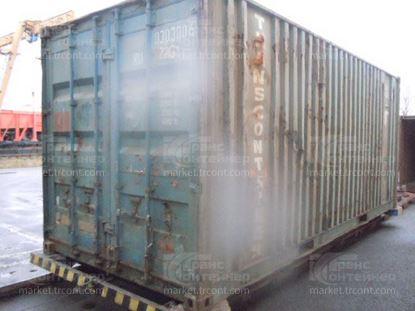 Изображение 20-футовый б/у контейнер №0303006