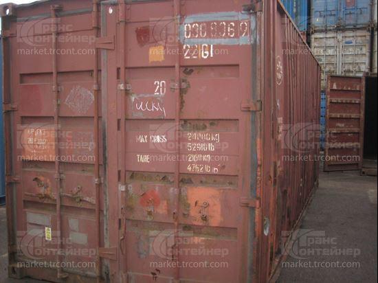 Изображение 20-футовый б/у контейнер №0308369