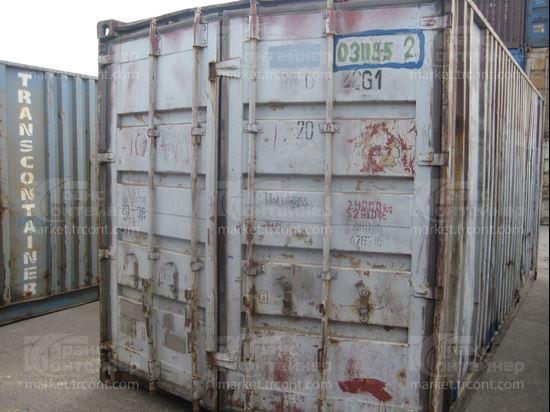 Изображение 20-футовый б/у контейнер №0311552