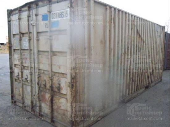Изображение 20-футовый б/у контейнер №0311866