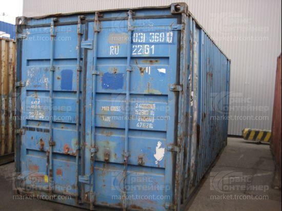 Изображение 20-футовый б/у контейнер №0313600