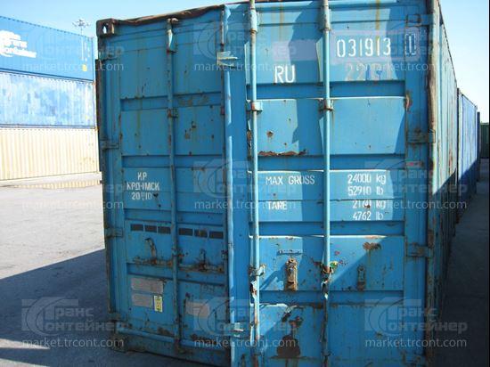 Изображение 20-футовый б/у контейнер №0319131