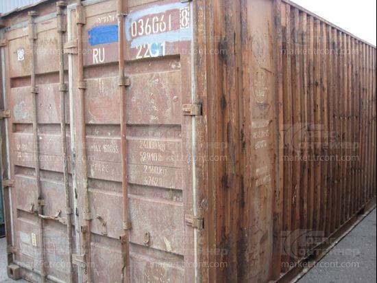 Изображение 20-футовый б/у контейнер №0360618