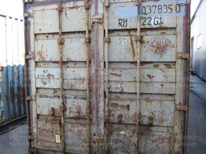 Изображение 20-футовый б/у контейнер №0378350