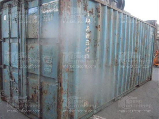 Изображение 20-футовый б/у контейнер №0390680
