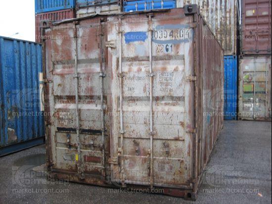 Изображение 20-футовый б/у контейнер №0394304