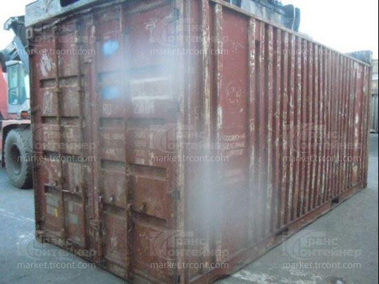 Изображение 20-футовый б/у контейнер №0413282