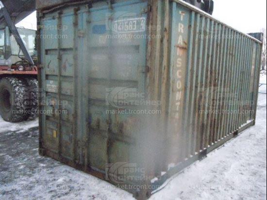 Изображение 20-футовый б/у контейнер №0415834