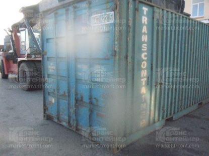 Изображение 20-футовый б/у контейнер №0421225
