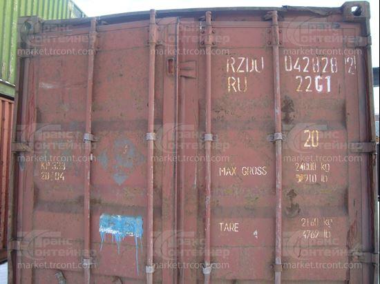 Изображение 20-футовый б/у контейнер №0428282