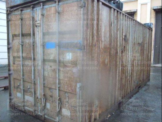 Изображение 20-футовый б/у контейнер №0427542