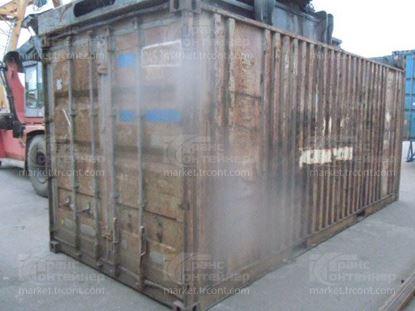 Изображение 20-футовый б/у контейнер №0453670