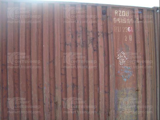 Изображение 20-футовый б/у контейнер №0419444