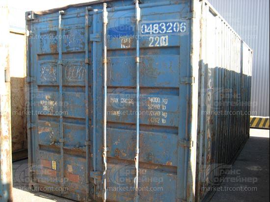 Изображение 20-футовый б/у контейнер №0483206