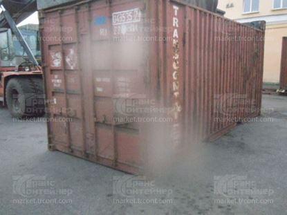 Изображение 20-футовый б/у контейнер №0495357