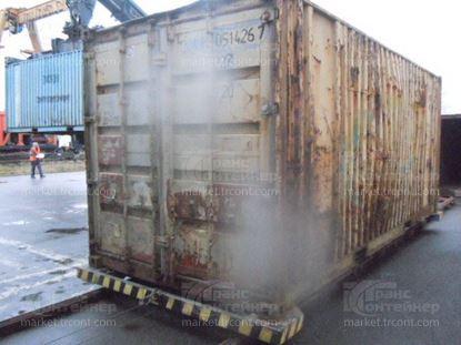 Изображение 20-футовый б/у контейнер №0514267